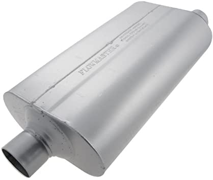 2.50 Center OUT Moderate Sound 2.50 Offset IN Flowmaster 852556 Super 50 Muffler 409S
