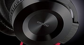 ONKYO large headphones headband type Violet 1.2m code ES-FC300-V