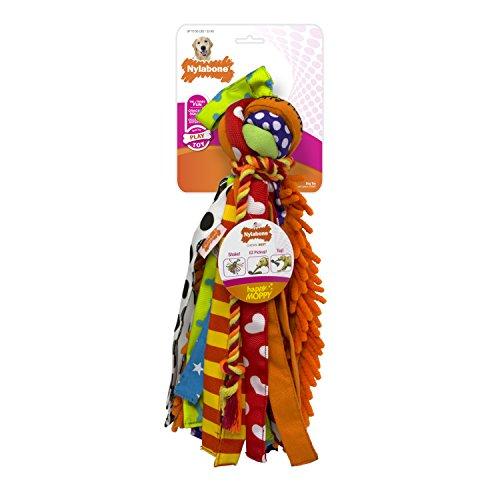 Nylabone Happy Moppy Interactive Dog Toy, Large ()