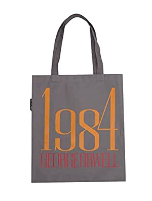 Out of Print 1984 Canvas Tote Bag, 15 X 17 Inches
