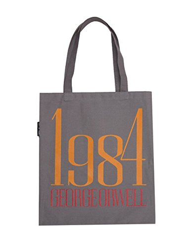 - Out of Print 1984 Canvas Tote Bag, 15 X 17 Inches