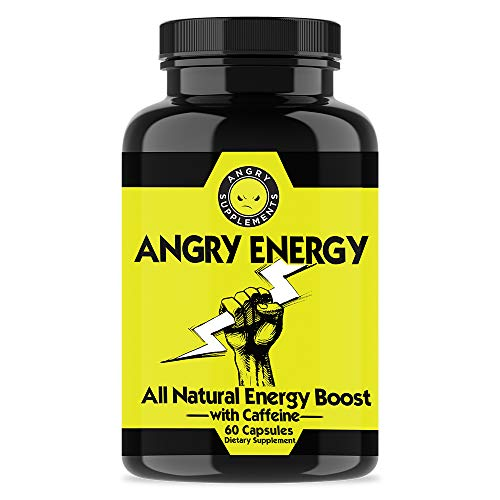 Angry Supplements Monster Test MAXX Testosterone Booster Angry Energy Monster PM 3-Bottle Bundle – Maximum Strength Power Pack for Men, Non-GMO Pills for Day Sleep Aid for Night 3-Pack,210ct