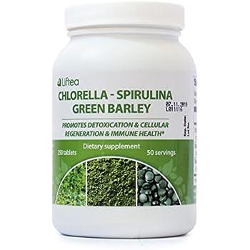Amazon Com Green Superfood Organic Detox Mix Chlorella