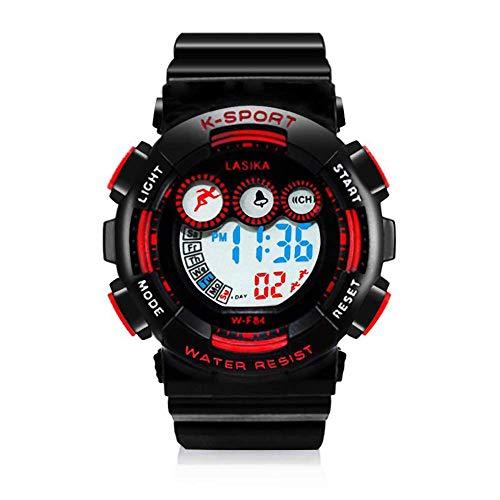 Boys Sport Digital Watch Yokgrass Kid Watch 50M Waterproof LED Alarm Stopwatch Child Quartz Wristwatch