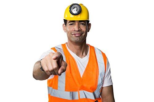 Forum Unisex Novelty Miners Helmet with Light