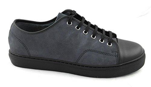Zerimar Zapato deportivo confeccionado en piel de alta calidad Suela de goma PRECIOS DE REBAJAS - AHORA 0 NUNCA Cómodo y ligero Color azul marino azul marino