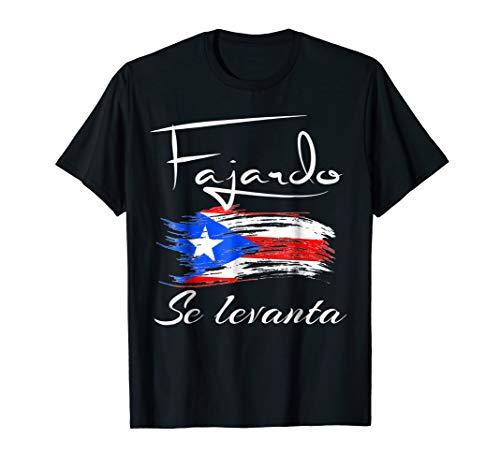Puerto Rico Se Levanta Tshirt - Boricua Pride Fajardo