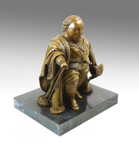 Modern Art Bronze, Louis XVI, signed by Fernando Botero ()