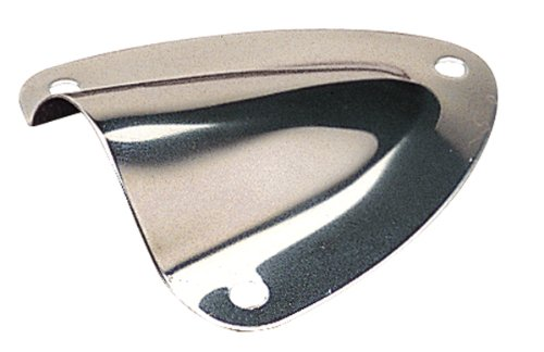 Sea Dog 3313701 STAINLESS MIDGET VENT(LARGE) CLAM SHELL VENT