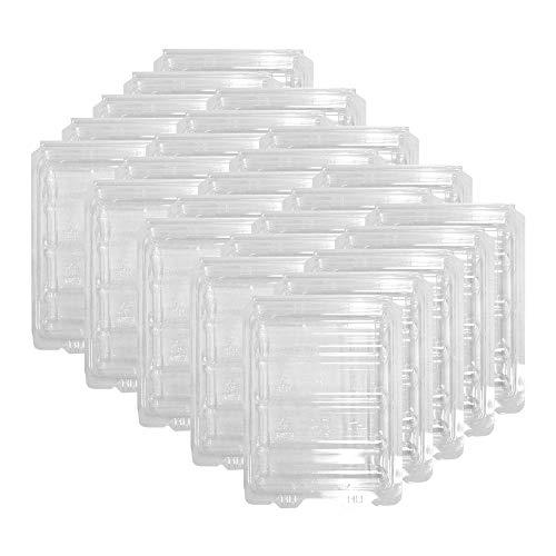 10 Estuches Clamshell de Plastico para HDD 3.5 pulgadas