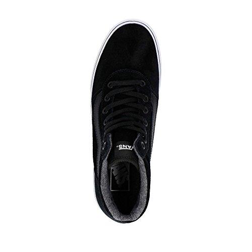 3il4dw5 Noir Salut Milieu Unisexe Maddie Vans Nero Chaussures Lacets Fille x7EnHPHqfw