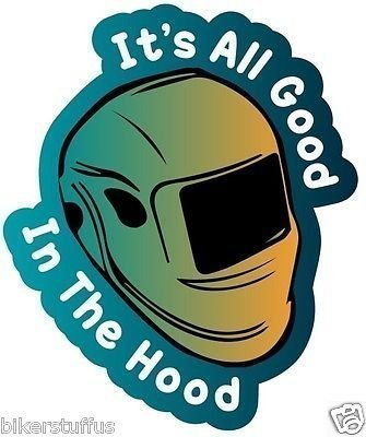 (All Good in This Hood Welder Weld Welding Helmet Sticker Hard HAT Sticker)