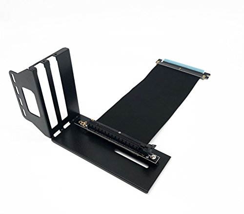 Kaislin Vertical Graphics Card Holder Bracket,video card support Kit with Riser Cable (Pcie Vga Box)