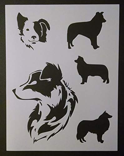 - OutletBestSelling Reusable Sturdy Border Collies Collie Dog Dogs 8.5