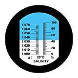 Aichose Salinity Refractometer for Seawater and