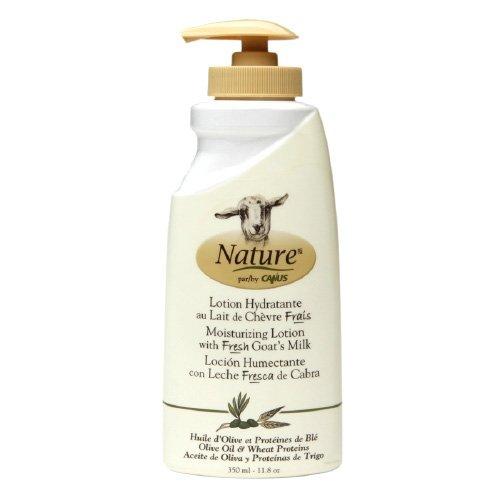 Nature By Canus Lotion - Goats Milk - Nature - Olive Oil Wht Prot - 11.8 oz (Oil Wht)