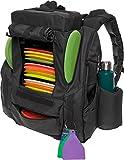 BagLane Fusion Elite Disc Golf Backpack Bag w/Seat & Cooler- 25+ Capacity (Grey)