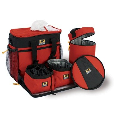 Mountainsmith K9 Cube Dog Pack, Heritage Red, Outdoor Stuffs