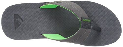Quiksilver Mens Coastaloasis II Athletic Sandal Grey/Green/Grey 8GpfCx
