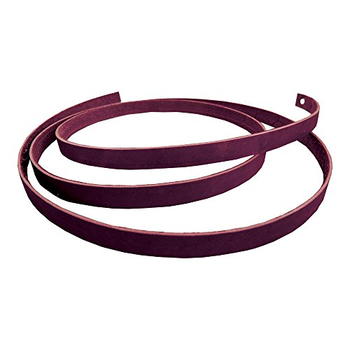 Springfield Leather Company Premium Alum Tanned Saddle String (Burgundy, 1/2