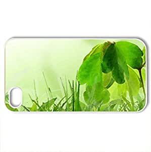 Absolutly beautiful spring - Case Cover for iPhone 4 and 4s (Watercolor style, White)