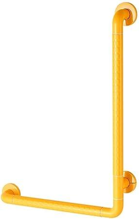 YHEGV Manija Antideslizante Pasamanos para baño Mampara de Ducha en Forma de L Aseo Ancianos discapacitados Acceso para discapacitados Pasamanos para baño Izquierda y Derecha Universal (Color: Ama: Amazon.es: Hogar