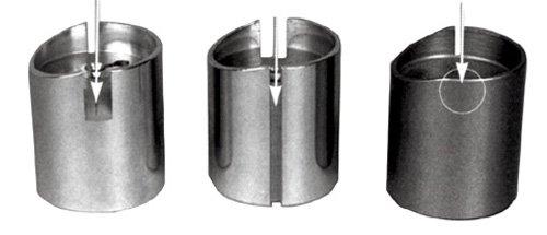 Mikuni Throttle Valves Brass (Chrome Plated) 40 and 44 Spigot. LH idle screw position. Cut away si -