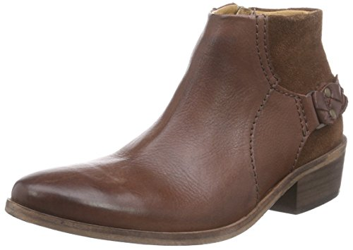 Hudson Ankle Boots Women's Suede Chocolate Triad Brown FwvTFCfacq