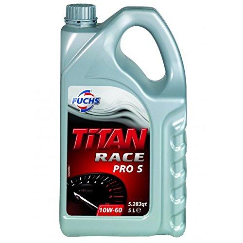 FUCHS(フックス) TITAN RACE PRO S SAE 100%化学合成エンジンオイル 10W60 5L A600752323 B01CXLJAO0