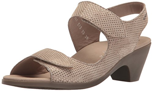 Mephisto Women's Cecila Dress Sandal Camel Silencio 8 M US ()