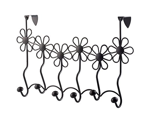 Over the Door coat rack Brown elegant design coat hooks, coat hook rack or towel rack- robe rack - hat rack