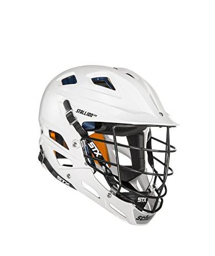 STX Lacrosse Lacrosse Stallion 600 Lacrosse Helmet, White, Medium