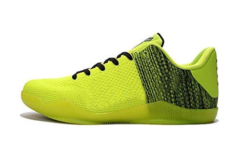 Price comparison product image 2016 Men's XI Sports Shoes - Basketball Black fluorescent green Size:10.5 D(M) US