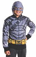 Rubie's Costume Batman v Superman: Dawn of Justice Armored Batman Child Hoodie, Medium
