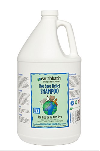 Earthbath Tea Tree and Aloe Concentrated Shampoo, 1-Gallon