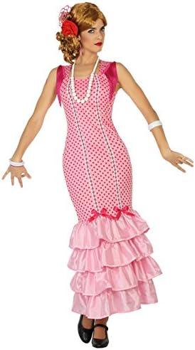 Atosa-38602 Disfraz flamenca, color rosa, XL (38602): Amazon.es ...