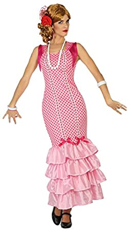 Atosa-38602 Disfraz flamenca, color rosa, XL (38602): Amazon.es ...