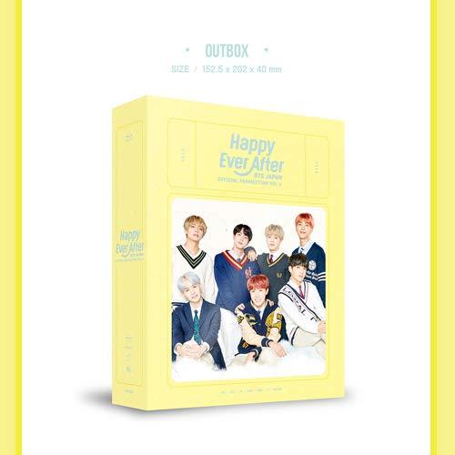 BTS (방탄소년단) BTS JAPAN OFFICIAL FANMEETING VOL 4 [Happy Ever After] (첫 한정 생산・해외 제조 상품)[Blu-ray]