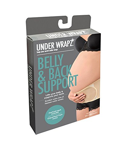 Under Wrapz, Belly & Back Support, Maternity Band, Black,...