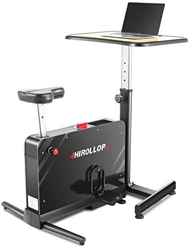 HIROLLOP Desk Cycle Exercise Bike
