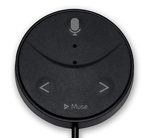 Muse Auto Second Generation: Alexa-Enabled Voice Assistant for Cars with Hands-Free Music, Audiobooks, Navigation and 2-Port USB Car Charger by Muse Auto