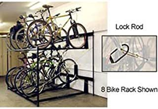 product image for 10-Bike Rack Double Decker, Locking