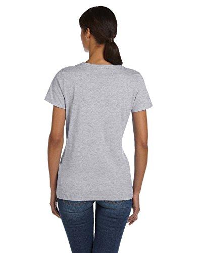 La Fruit De Loom Athletic Algodón Mujer The Heather Camiseta Hd Of Pesados Ba4q8