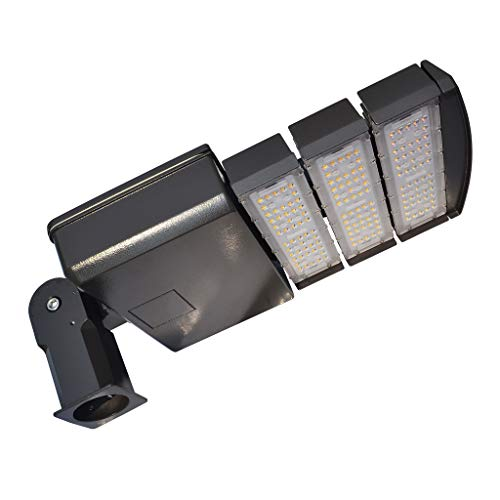 Led Light Fixtures For Parking Garages: Docheer 200W LED Shoebox Light Parking Lots Pole Fixture
