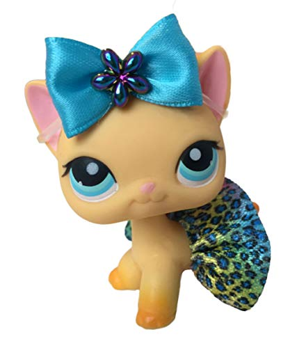 Littlest Pet Shop Accessories LPS Lot Bow Leopard Skirt CAT NOT Included