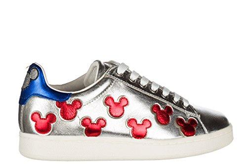 of Master Leder Schuhe Silber Arts Sneakers Damenschuhe Moa Damen Turnschuhe q75a5T