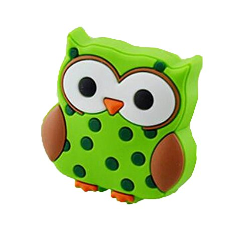 0.94' Handle - Set of 2 Drawer Handles Cabinet Knobs Kids Room Decor [Owl]