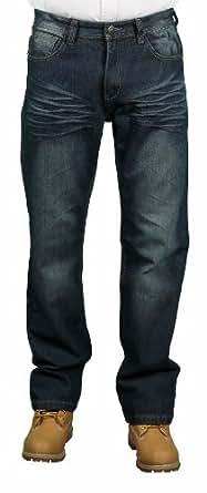 MO7 Men's Fashion Jeans, Dark Indigo, Size 44X32