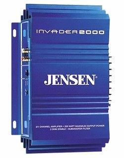 Jensen 2000 Invader Amplificador para Radio de Coche: Amazon.es ...