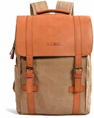 School Laptop Backpacks College Bookbag - WUDON Notebook Bag Fits 15Inch  Laptop 6d713ad9b0b4a